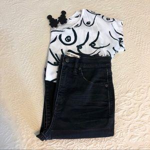Madewell Rivet&Thread Extra High Rise Skinny Jeans
